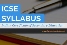 ICSE Board / Know about #ICSE #Board Syllabus, online study material, e learning videos, class notes, online tutorials, worksheets, online tests & Results.