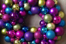My crafts - Christmas wreaths - variációk koszorúkra :) / Koszorúk ajtóra, egy stílus mentén.