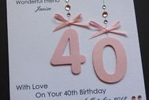 Special Age birthday cards