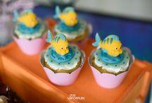 Festa Infantil em Casa - Tema Fundo do Mar - Ariel / Decoração e Festa Fundo do Mar - Ariel (Encantada Personagens) - Fotos: Gus Wanderley