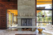 Fireplaces / by Sue Engelmann