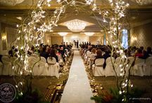 """Real Wedding : Leah-Rose & Brendan / A sparkly """"woodland elegance"""" winter wedding, at the Sutton Place Hotel in Vancouver"""