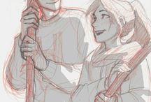 Ginny & Harry fanarts