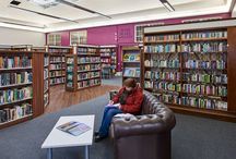 Dartford Library / Demco Interiors worked closely with the Dartford library team and Kent County Council to design and furnish an interior that paid homage to the tradition of this lovely old building and its listed features.