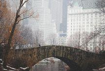 New York / My favorite city.