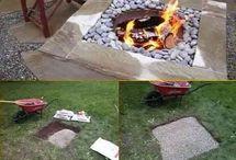 fire pit ateş çukuru