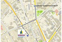 Как добраться: Турагентство Синдбад Иркутск / Офис турфирмы Синдбад: Схема проезда