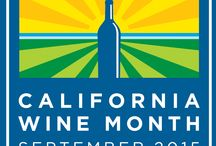 California Wine Month / California Wine Month in September celebrates signature agricultural products and all that vintners and growers bring to the economy, culture and lifestyle of the Golden State.