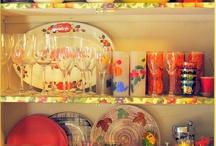 Vintage Kitchens/Fancy Dishes / by Pamela Rose