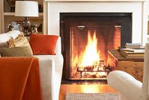 Fireplaces / by Marti Swanson