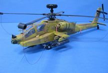 AH 64 LONGBOW APACHE 1/48
