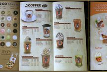 Donuts flyer menu/ Catalogue