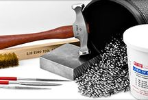 Hammer Time / This is a collection of tools, supplies, and resource materials for metal jewelry design.  A great collection for those, who like me, are wanting to get their feet wet in the metal jewelry designing world.  Enjoy! / by Debra Beach