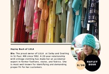 Vintage Style: Hayley Bush / Hayley Bush from LULA (http://LULAVINTAGEMN.com/)