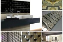 Tile Trends for 2016 / Waxman Ceramics explores the tile trends for 2016. Fro bold florals to geometric prints, 2016 sees retro design taking on a new life form.