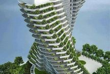 ♂ Green building, Sustainable architecture design,
