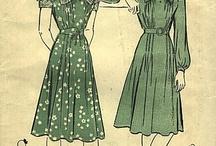 Design Styles: 1940's dresses part 2