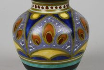 Gouds plateel - Gouda Pottery / Aardewerk uit de eerste helft van de 20e eeuw uit Gouda en omstreken.