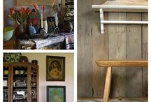 COUNTRY STYLE WOODEN FURNITURE.