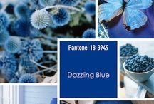Pantone Dazzling Blue