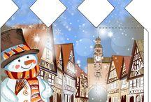 Karácsonyi tasak