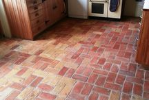 Brick Tile Cleaning