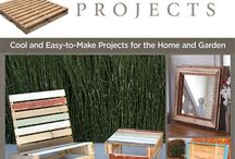 Pallet Wood Project Ideas / We have featured several articles on repurposing pallet wood, which has become the source of many projects these days. Here are some ideas for any pallets you may have laying around.