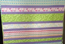 baby quilts / Baby quilts I've made.  Some for sale - message me about getting one for yourself!