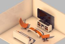 isometric 3d art inspiration