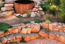 garden: tubs