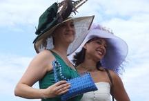 Elisa and sister wearing East Angel Harbor Hats