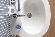 opwasbak kombuis en badkamers.
