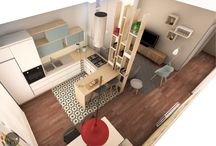 Rob&Ann :: appartamento a Roma / Progetto di ristrutturazione di Spazio 14 10