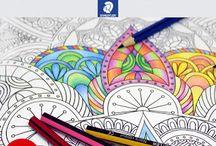 color terapia para adultos pinta y combate el estrés / Colorterapia - Colorear combate el estrés en adultos #blog https://goo.gl/jkbbFK