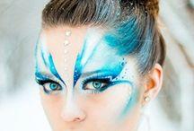 Karnevals-Makeup