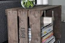 old wooden pallets