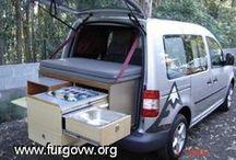 ombygning til camping bil