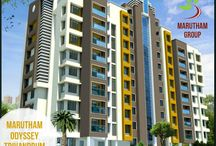 Marutham Odyssey / #MaruthamOdyssey – #Luxury #Apartments in #Vattiyoorkavu which has 9 upper floors and 50 Flats in Total for Sale. #2BHK and #3BHK Apartments giving you all the conveniences of living in a metro without any of the hassle.