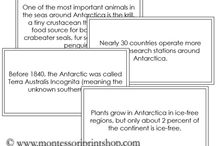 Study of Antarctica / Photographic cards for the study of Antarctica