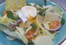 vegetarisch cesaer salade