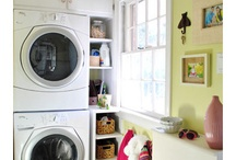 Organized Laundry/Mudroom / by Becky_ Organizing Made Fun™