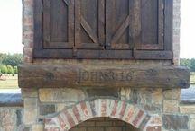 Wall Mounted TV Barn Doors