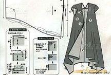 mønster til kjole