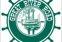The Great River Road / In which My Own True Love and I set out on an adventure