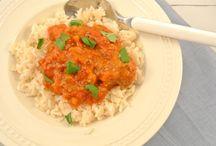 Koken: met rijst/bami