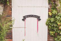 Mariage ★ M&V / Mariage wedding rock guinguette flower fleur liberty libertie