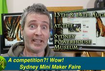 Sydney Mini Maker Faire 2016 / The SMMF at the Poewrhouse Museum. What a blast it was! I filmed a bunch of interviews with stall owners.