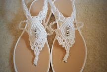 Macrame sandals / Hand made sandals in macrame tehnique