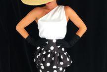 Falda del vestido