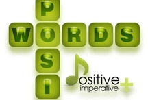 PosiWords / PosiWords is all about understanding we live in a Negative Vocabulary world which in turn creates negative thinking and negative energy.  PosiWords is about using our best positive vocabulary and also evolving a new vocabulary of Positive words which raised the bar on Positivity and creates Positive focus,, positive mindsets and positive energy.